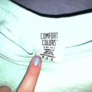 Comfort Colors Tops - Comfort color miccos shirt